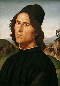 Pietro Perugino Portrait of Lorenzo di Credi