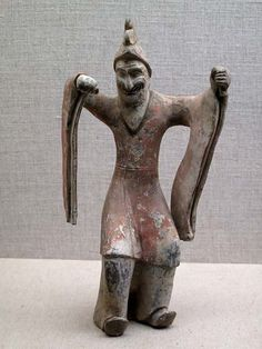 Dancing Tartar, Northern Qi dynasty, 562 AD Shanxi Museum