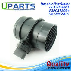 UPARTS Brand New,OEM Quality Mass Air Flow Meter MAF Sensor For Audi A3 /TT/Roadster/06A906461E/06A906461L/038906461C/06A906461