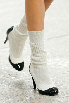 Chanel Socks and shoes runway spring 14