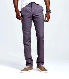 New MERONA Flannel Lined Chino Khaki Pants Men's Size 38 x 32  Dark Gray NWOT #Merona #KhakisChinos