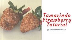How to make a Tamarindo strawberry Mexican Candy Table, Mexican Snacks, Mexican Food Recipes, Chocolate Covered Strawberries, Chocolate Dipped, Filled Strawberries, Tamarindo, Strawberry Filling, Strawberry Recipes