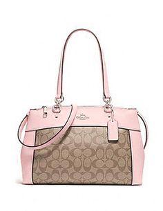 Fashion Now, Pink Fashion, Coach Handbags, Coach Bags, Pink Coach Purses, Everything Pink, New Bag, Satchel, Shoulder Bag