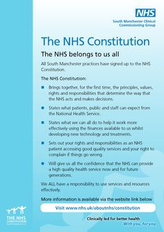 South Manchester Clinical Commissioning Group - All 25 GP practices have signed up to NHS Constitution