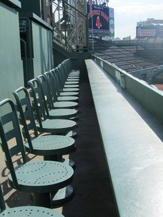 best seat in the house @ Fenway Park
