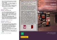 """Congreso """"Mundos (im)posibles"""": programa definitivo   UTOPIA: Red trasatlántica de estudio de las utopías"""