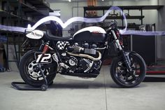 Tridays Triumph Bonnevilles ~ Return of the Cafe Racers