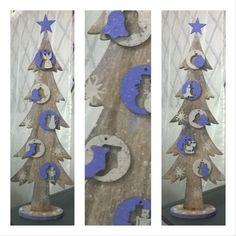"""5 """"Μου αρέσει!"""", 1 σχόλια - @my_paperland_stories στο Instagram: """"Ξύλινο οικολογικό χριστουγεννιάτικο δέντρο 🎄!!! Με στολίδια σε διάφορα σχέδια!!! #woodentree #wood…"""""""