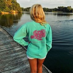 Our Chalky Mint Crew Neck:)