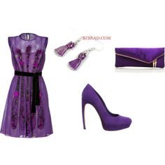 """""""Purple Dream"""" by anna99-486 on Polyvore"""