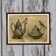 Hey, I found this really awesome Etsy listing at https://www.etsy.com/listing/127360643/bird-art-animal-print-old-paper-antiqued