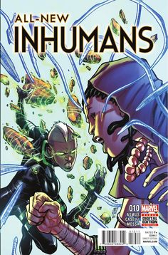 Preview: All-New Inhumans #10, Story: James Asmus Art: Stefano Caselli Cover…