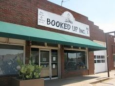 BOOKED UP, Inc., author Larry McMurtry's secondhand bookstore in Archer City, TX.
