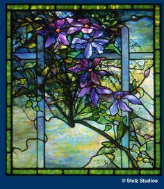 Clematis window