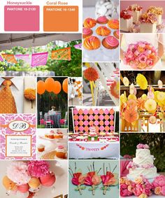 Google Image Result for http://weddingshereandaway.com/wp-content/uploads/2011/03/pink-and-orange.jpg