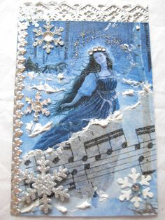 Winter Fairy ATC