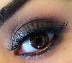 Beautifully Brown - Click Pic for 18 Makeup Tips for Brown Eyed Girls