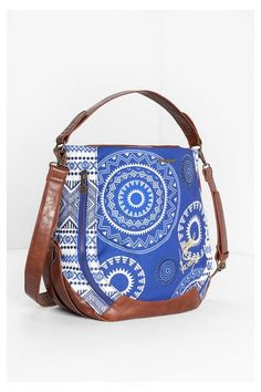 Desigual Folk print bag. Discover the new arrivals in our accessories collection!