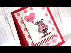 A Video by Kristina using the January 2014 card kit by Simon Says Stamp.