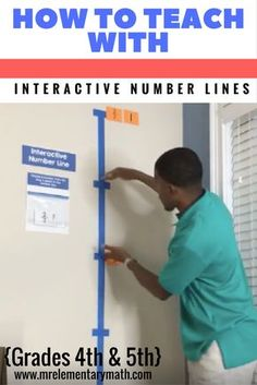 interactive number lines for 4th and 5th grade