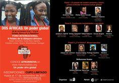 Foro internacional - Dos áfricas: un poder global - 28 Noviembre 2017 - Quibdó (Colombia)