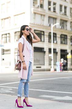 Friday Pink :: Cutout vest