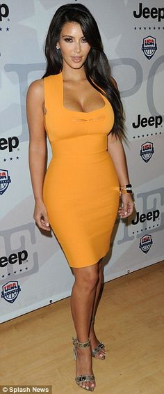 say what you will about kim k, but the girl does know how to dress!