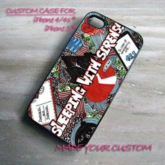Sleeping With Sirens, iPhone 4 Case, iPhone 4s Case, iPhone 5 Case, Samsung Galaxy S3 i9300, Samsung Galaxy S4 i9500