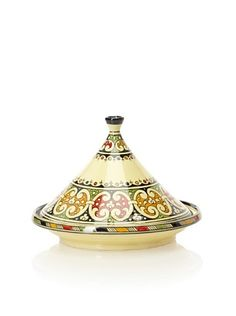 Moroccan hand painted tagine