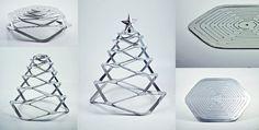 Feeldesain | Flat Pack Aluminium Christmas Tree