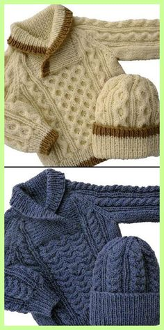Lavori a maglia Baby to Toddler Cable Sweater & Hat Knitting pattern by KittyKnits Baby-Strickanleitung baby Baby Pullover Cable Hat KittyKnits Knitting Lavori maglia Pattern Sweater Toddler Knitting Patterns Boys, Baby Sweater Patterns, Baby Cardigan Knitting Pattern, Knitting For Kids, Free Knitting, Knitting Charts, Knitting Stitches, Knitting Projects, Baby Boy Sweater