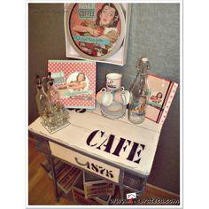 Colección accesorios de cocina Pin Up. Decoración vintage / retro, cocina americana de los cincuenta - DECORATECA.COM