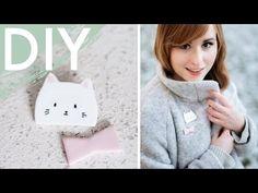 DIY Cat & Bunny Brosche aus Fimo - You and I DIY