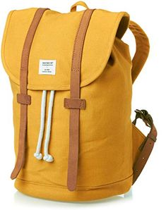 Amazing offer on Sandqvist Stig Yellow Backpack - Yellow online - Newclothingtrendy Best Laptop Backpack, Backpack Bags, Ladies Backpack, Laptop Bag, Motorcycle Backpacks, Yellow Backpack, Survival Backpack, Yellow Online, Best Laptops