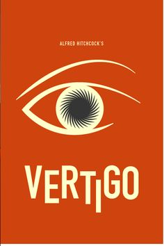 Vertigo ~ Minimal Movie Poster by Chris Tarampi ~ Hitchcock Series Minimal Movie Posters, Cool Posters, Film Posters, Vertigo Movie, Everything Film, Film Poster Design, Unique Poster, Photography Illustration, Alternative Movie Posters