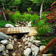 Create your own dry creek bed