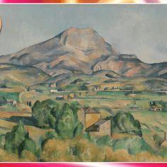 «La montagne Sainte-Victoire » de Paul Cézanne