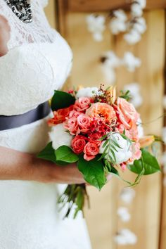 Slate, Poppy and Cotton: A Styled Shoot by Cedarwood Weddings