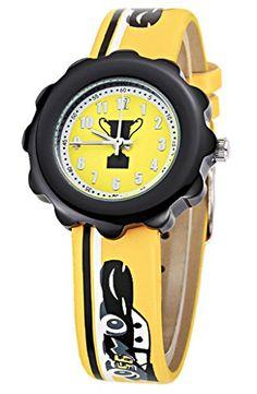 Kezzi Unisex Kids K1185 Car Prize Cup Quartz Analog Yellow Leather Wrist Watch for Boys Girls Kezzi http://www.amazon.com/dp/B012BZV7OO/ref=cm_sw_r_pi_dp_1lkSvb14GQJQ7