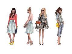 Site da consultora de moda Marcella Carneiro desenvolvido pela www.zerosite.com.br