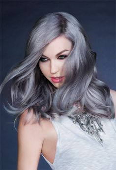 Silver hair color trend 2016