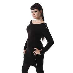 Heartless Doloress Nitt - Naisten Pusero (xl) 45€ Body Jewellery, Black Cardigan, Knitwear, Queen, Lady, Sweaters, Clothes, Gothic, Style