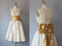 Your place to buy and sell all things handmade 1950s Party Dresses, Vintage Dresses 50s, Eyelet Dress, Frocks, Beautiful Dresses, Ready To Wear, Vintage Fashion, Flower Girl Dresses, Fashion Outfits
