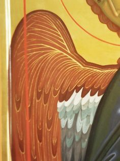Byzantine Icons, Images, Wings, Pastel, Design Inspiration, Heavenly, Spiritual, Painting, Beautiful