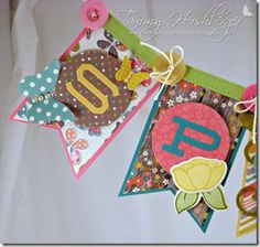 Spring Banner by Tammy Hershberger Spring Banner, Sno Cones, Pretty Pink Posh, Sending Hugs, Kind Words, Jelly Beans, Daffodils, Teaser, Banners