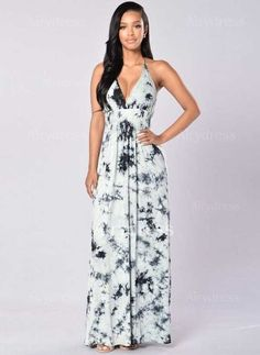 Dress - $14.63 - Polyester Sleeveless Maxi Sexy None Dresses (1955124593)