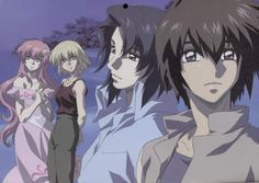 Gundam Seed Destiny : Kira Yamato, Lacus Clyne, Athrun Zala, Cagalli Yula Athha