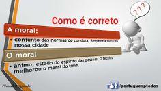 Português para todos: Como é correto