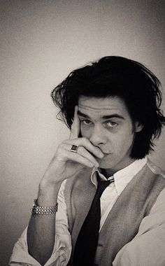 Nick Cave (September 22, 1957) British singer, songwriter, poet, writer and actor, known from his band Nick Cave & The Bad Seeds.