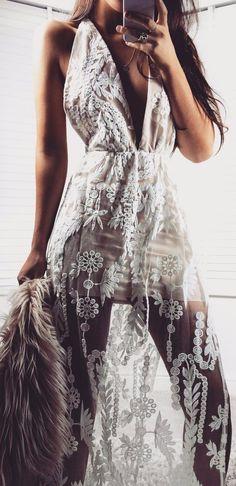 tuscan lace dress
